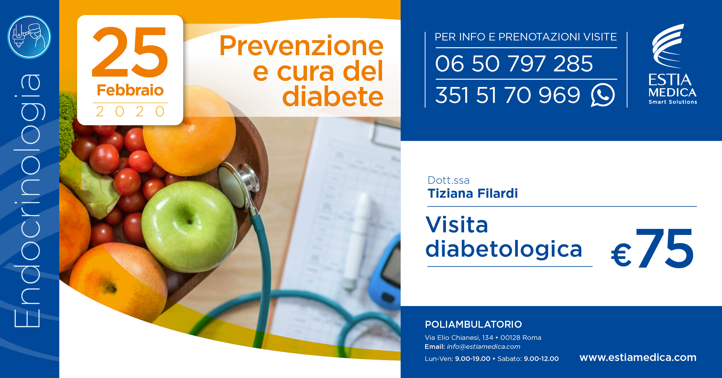 25 Febbraio 2020 • Prevenzione e cura del diabete